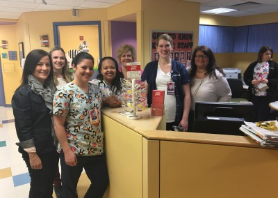 Nursing staff at Advocate Childrens Hospital