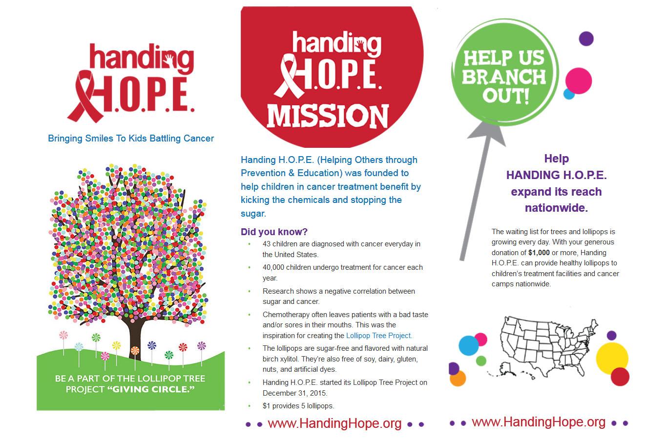 Handing Hope Brochure 1