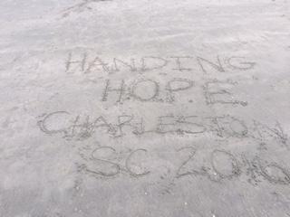 Handing Hope Charleston Sand